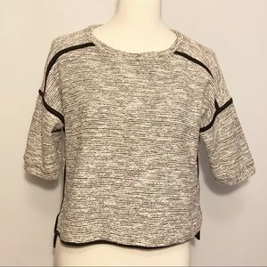 Madewell Textured sweater top Size S